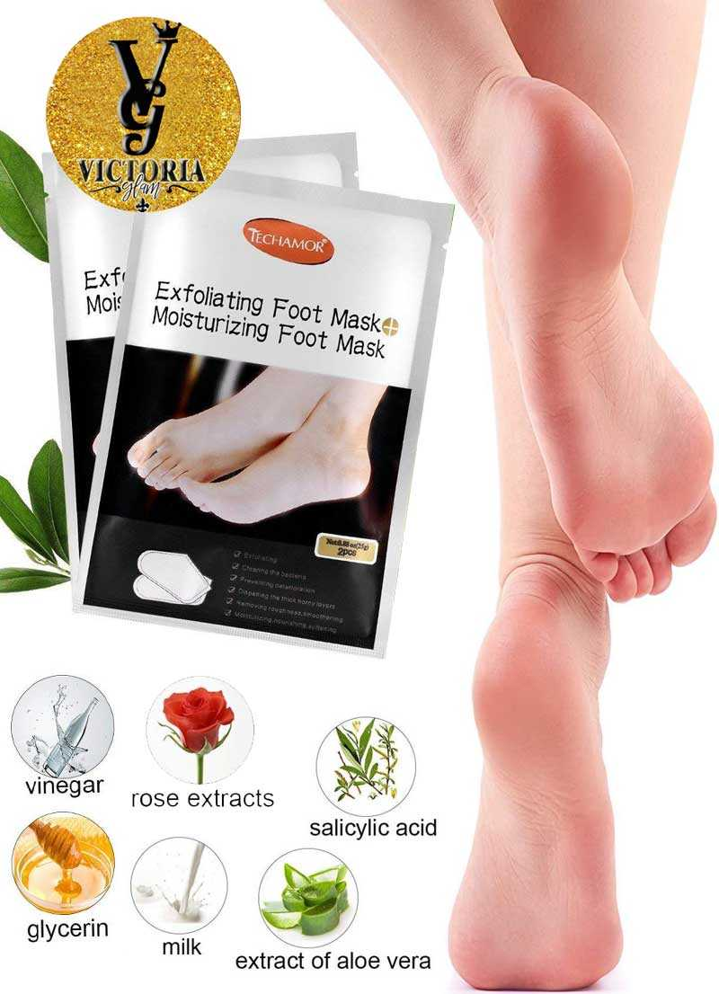 Exfoliating Foot Mask Gloves