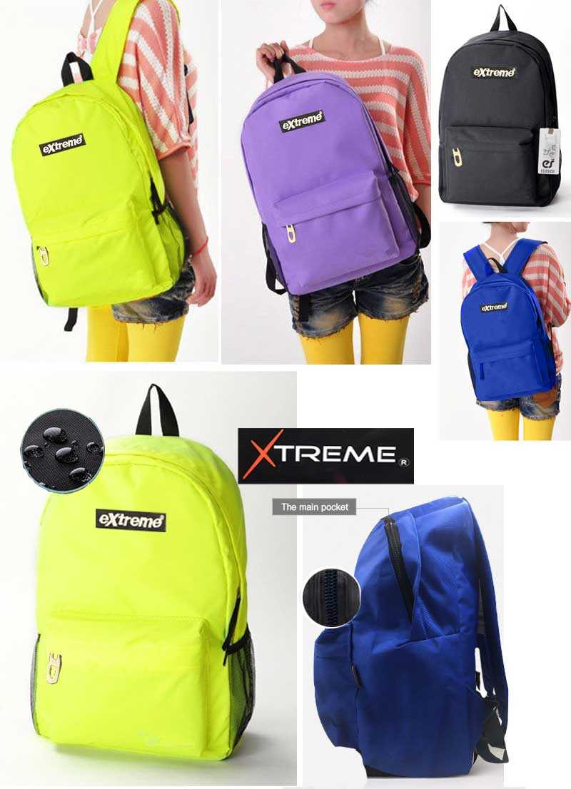 Extreme 1 pockets nude design Campus Backpack High Quality School Backpacks Less Is More School Bags For Teenagers
