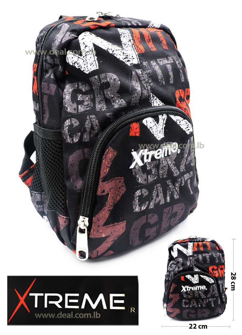 Extreme Gravity One Pocket School Bag For Girls And Boys Kids