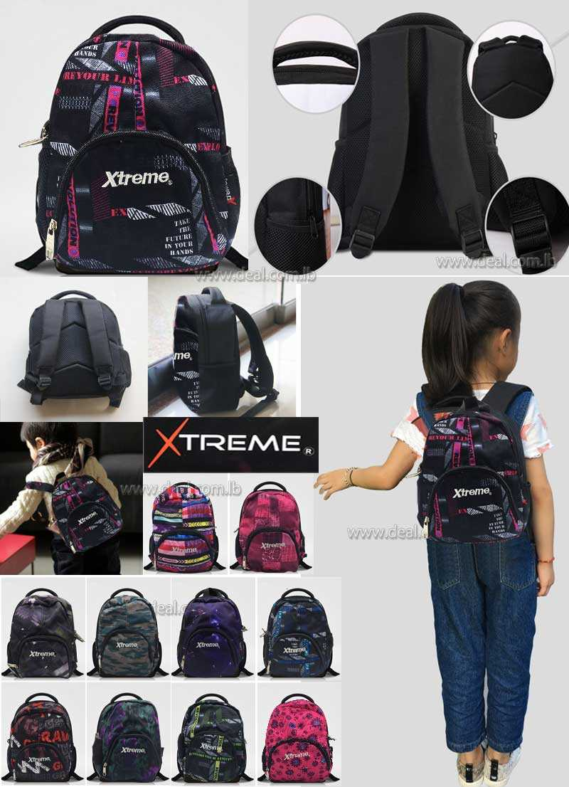 Extreme Kindergarten Toddler School Bag Girl  Students Book Bags Small Backpack Kids Gifts