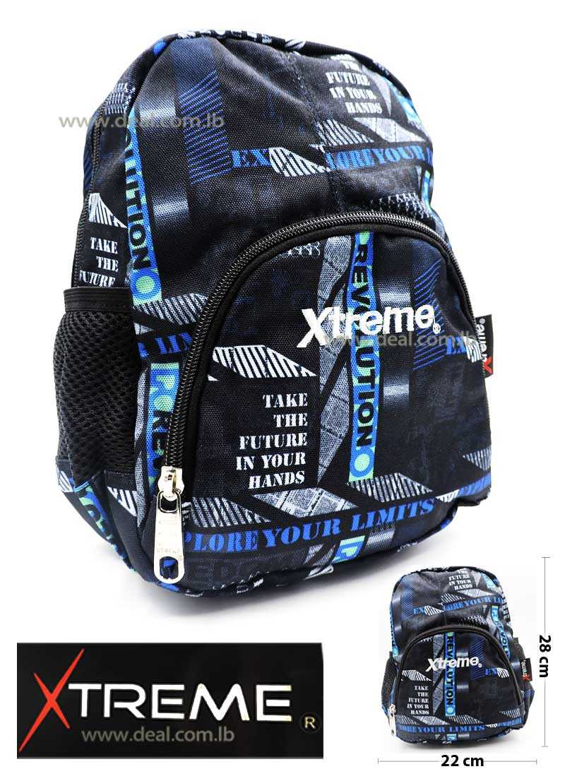Extreme Revolution One Pocket School Bag For Girls And Boys Kids