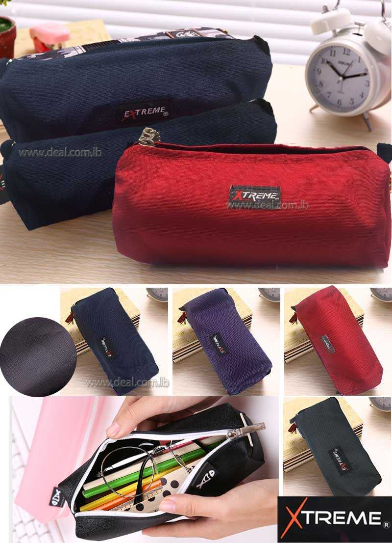 Extreme one pocket colored pencil case