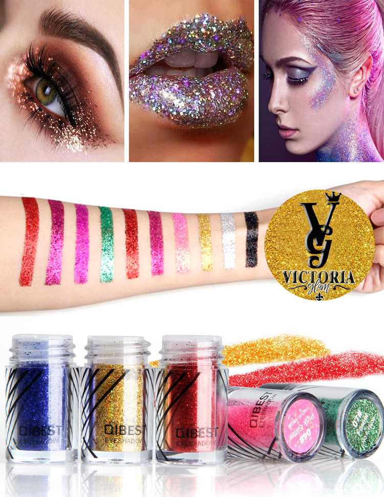 Eye Shadow Kit Glitter Loose Powder