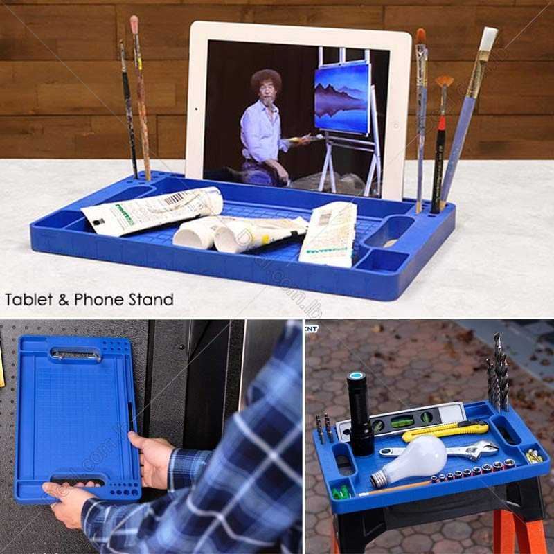 Flexible Tool Box Organizer Tray