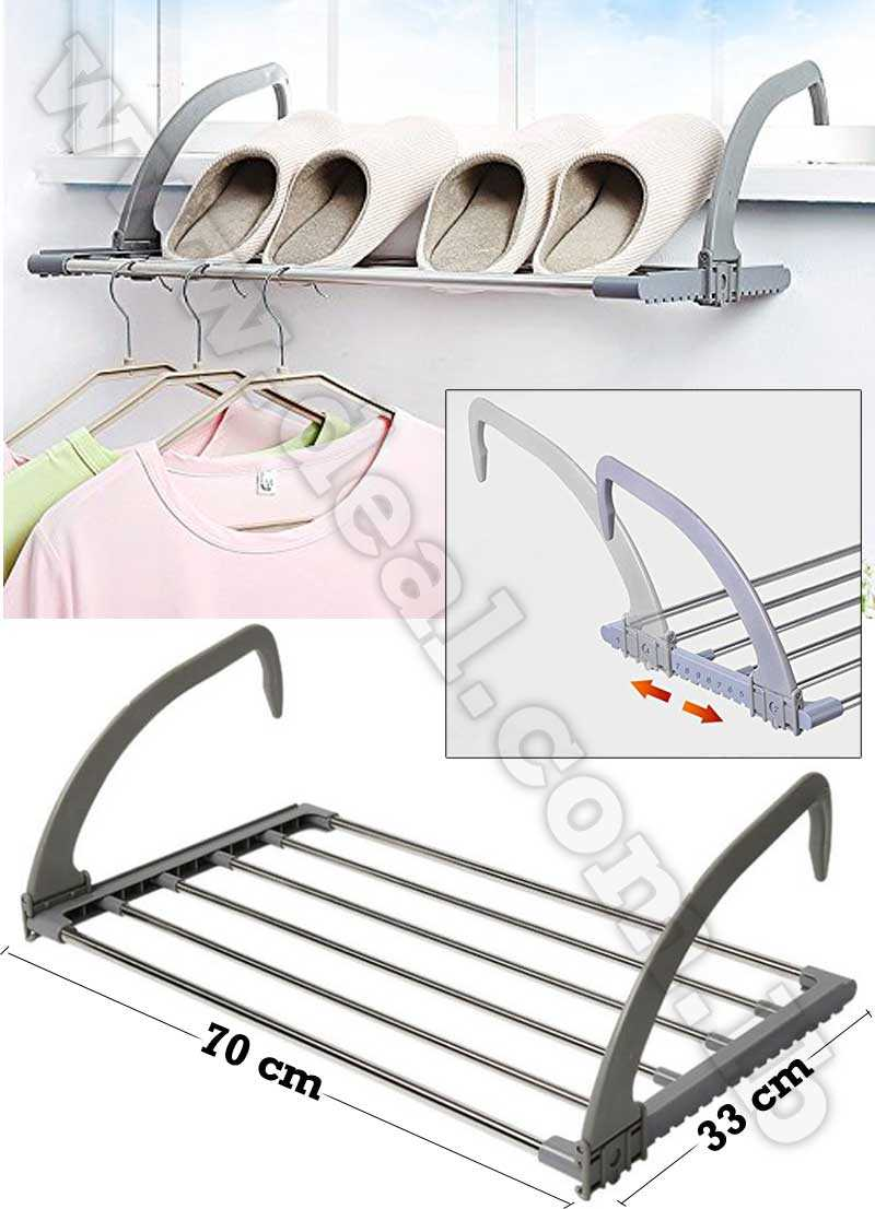 Folding+clothes+rack+Outdoor+Easy+Install+Folding+Clothes+Drying+Rack