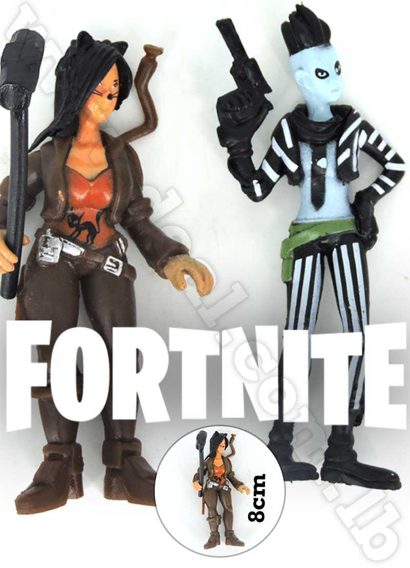Fortnite Battle Royal 2pcs 8cm