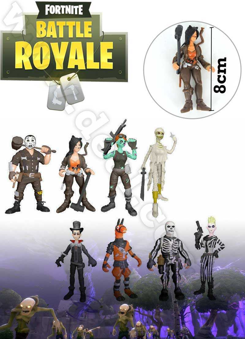 Fortnite Battle Royale last fort standing collect them all 8 pcs