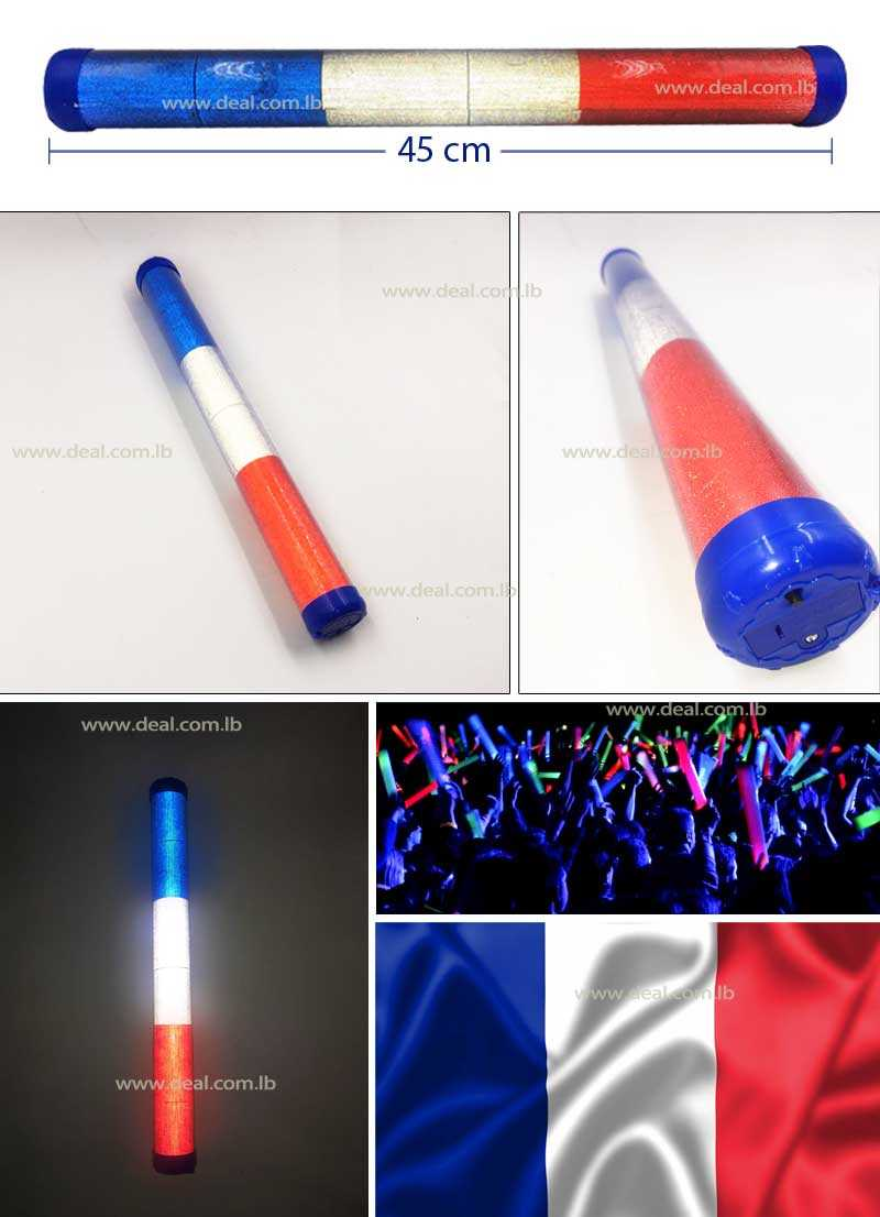 French LED Plastic Stick