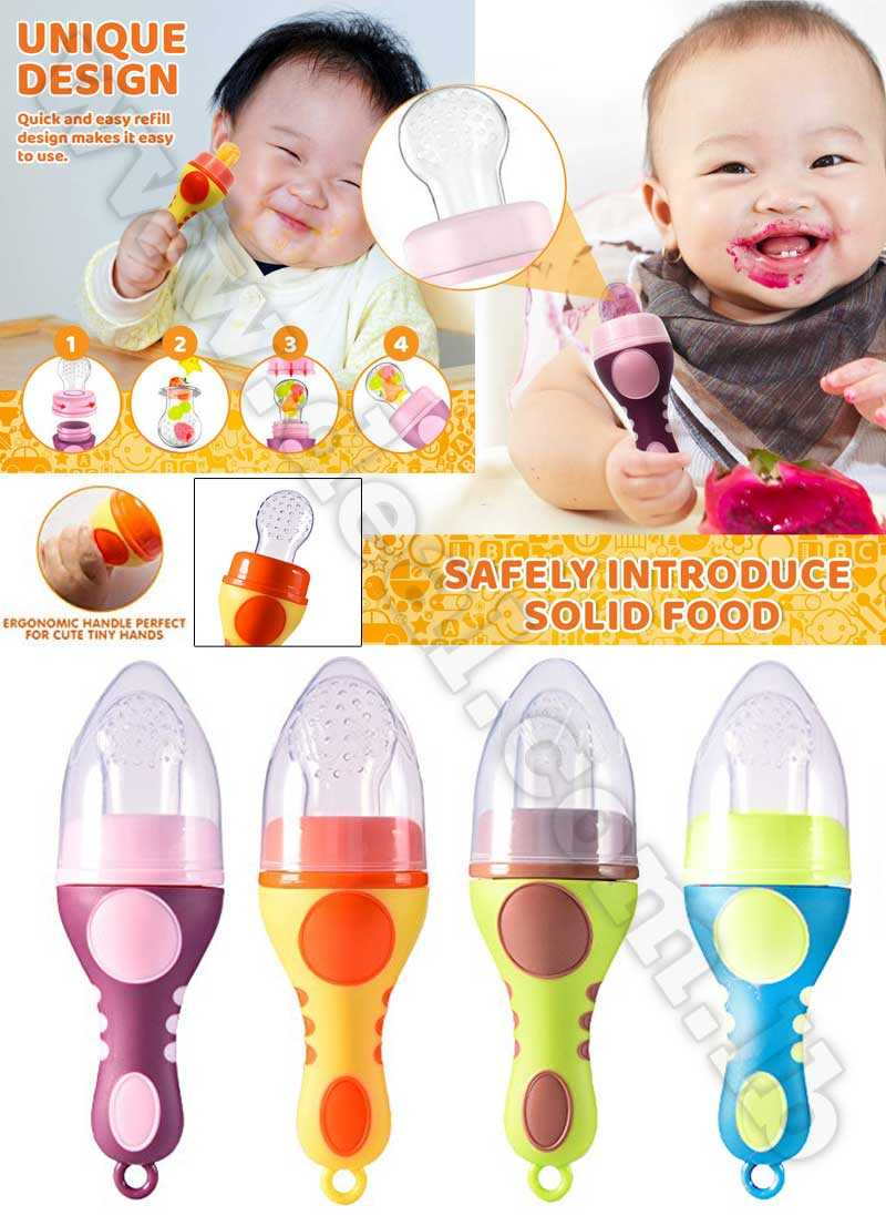 Fresh food Feeder nibbler Silicone Baby Fruit Pacifier with cover