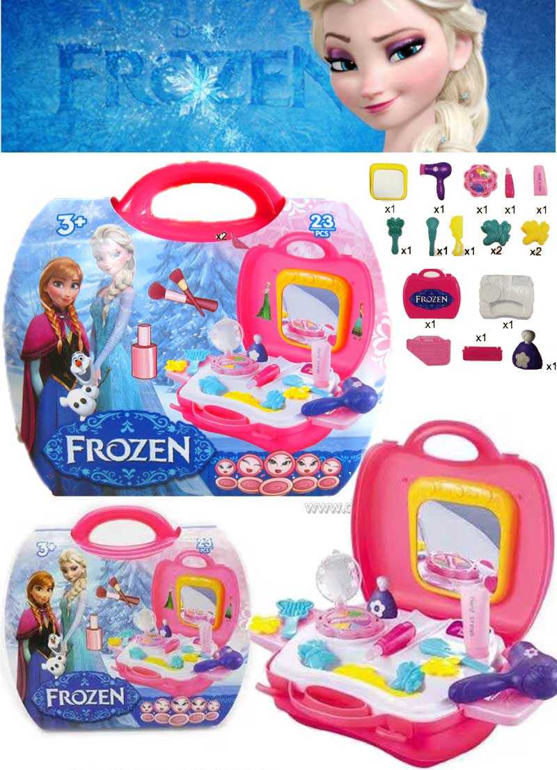 Frozen Cosmetic Bag Playset (23pcs)
