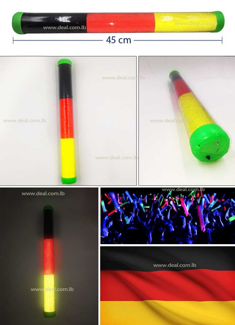 Germany LED Plastic Stick