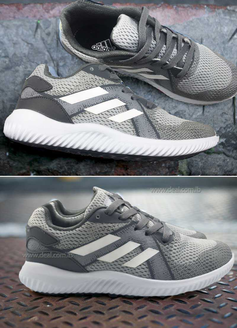 Gray Adidas ruining shoes