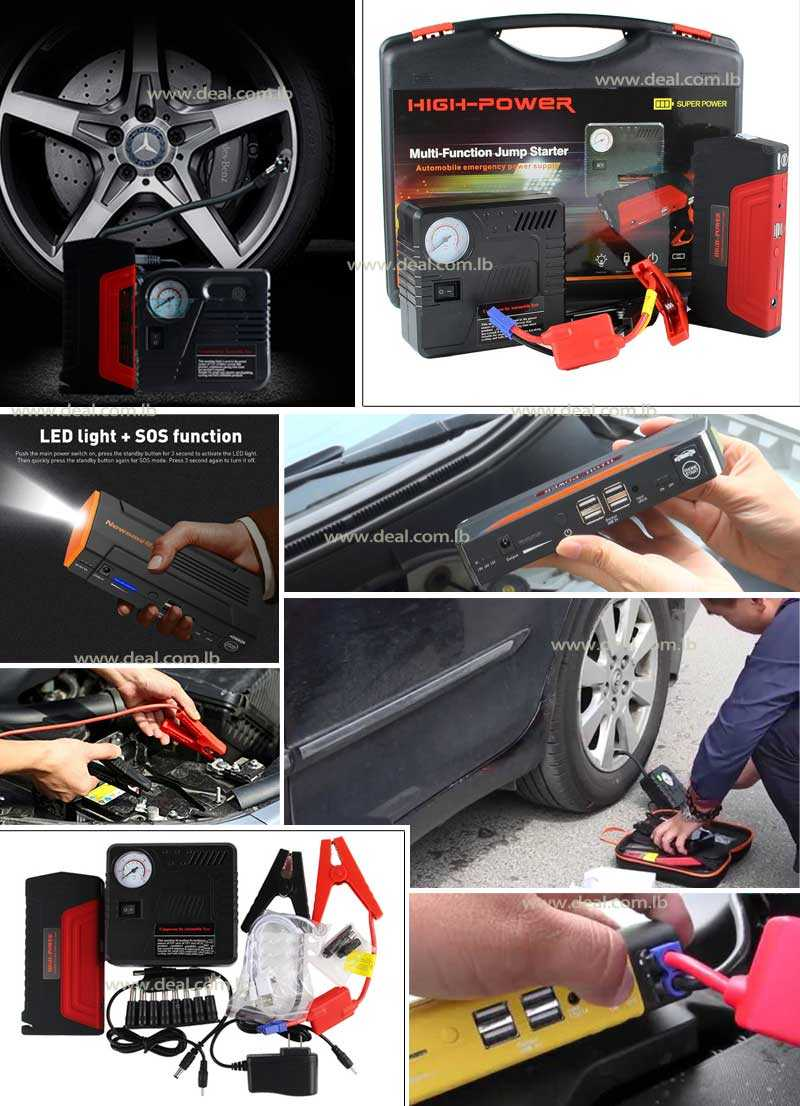 High Power Multi-Function-Jump Starter Car Chargers