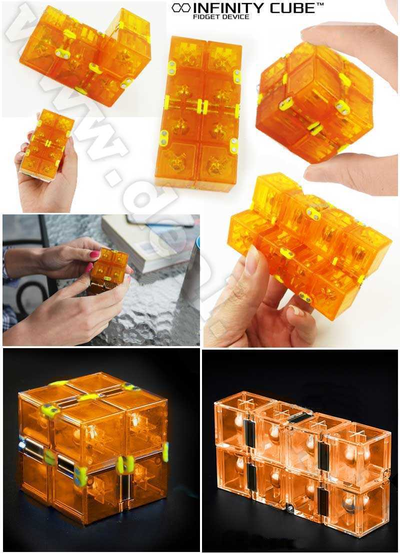 Infinite Cube Infinity Cube Flip Relief Focus Anxiety Stress Toy