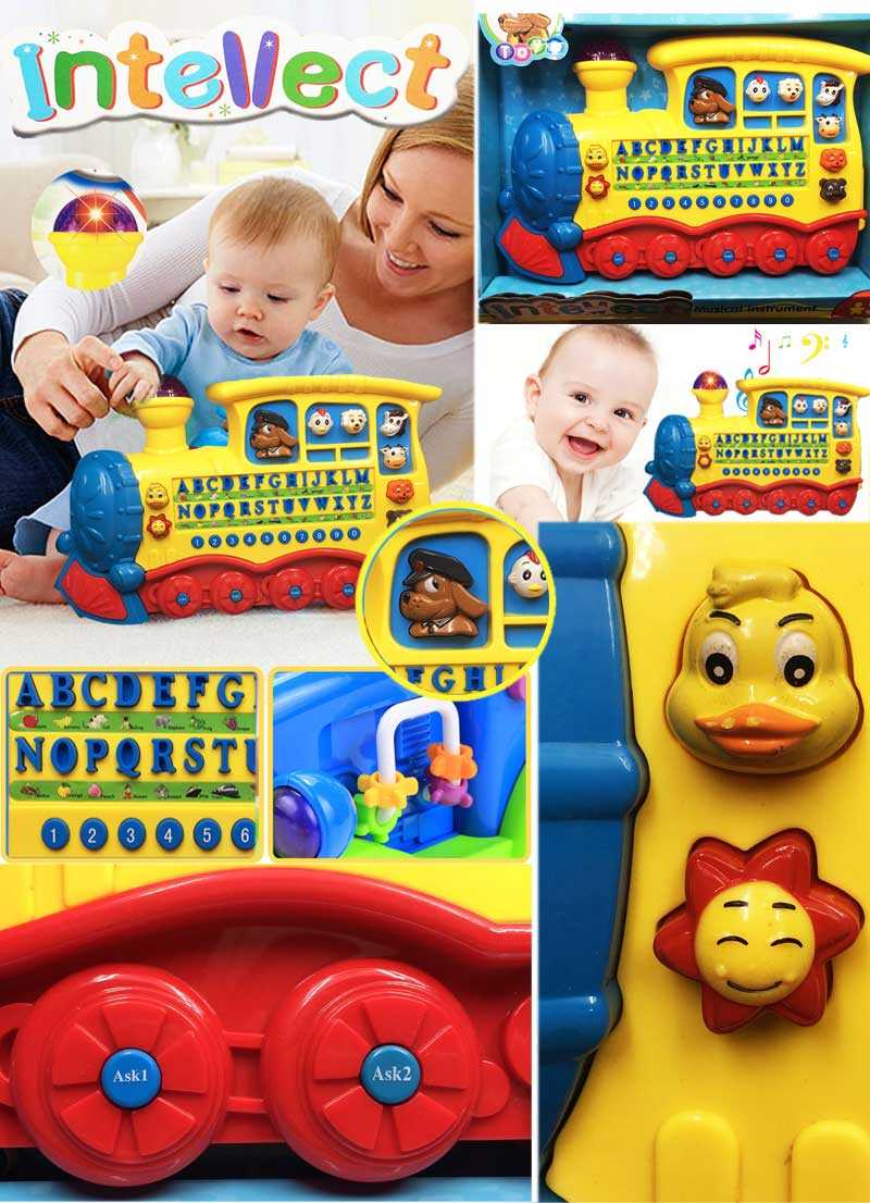 Intellect toys Musical instrument train