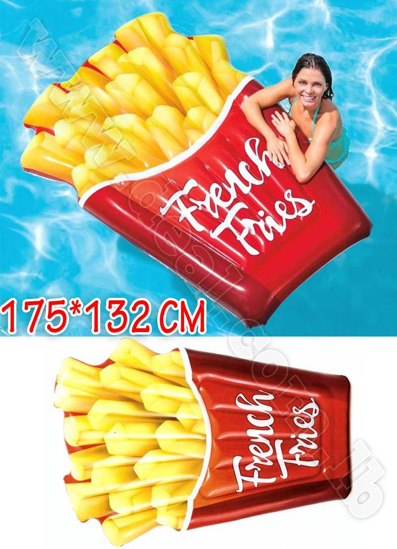 Intex Inflatable Fries Mattress French Fries