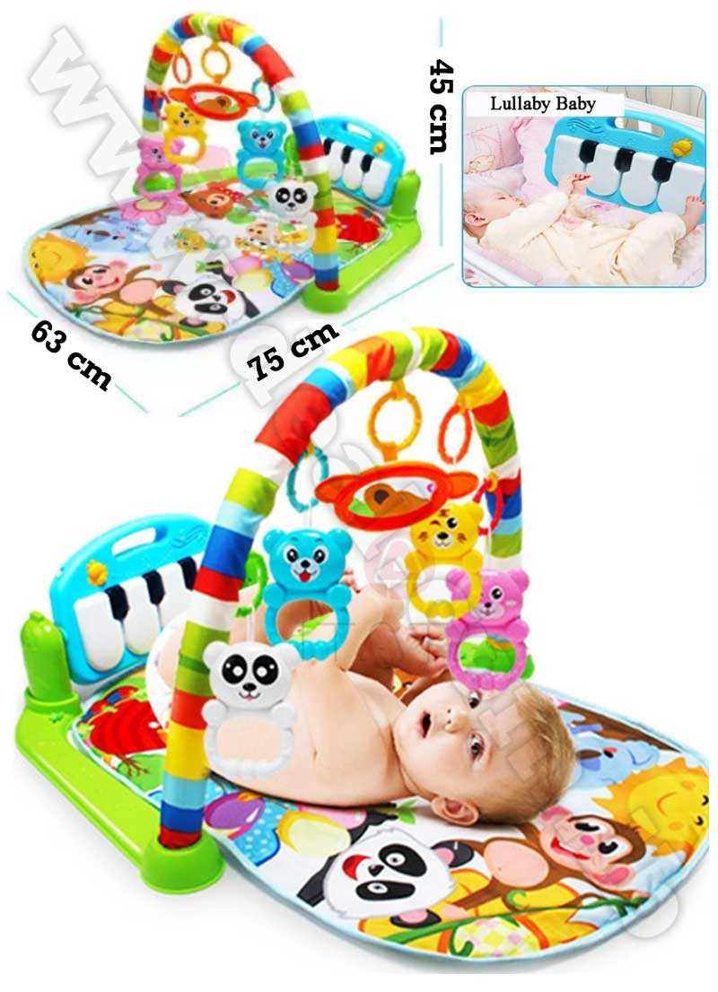 Kick and Play Newborn Toy with Piano for Baby