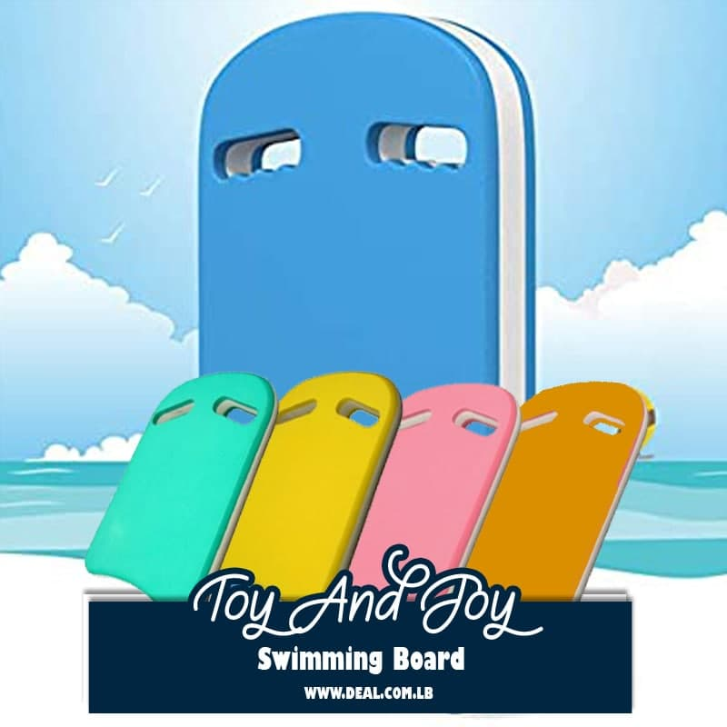 Kid Adult Swimming Kickboard Safe Swim Pool Trainer Training Aids Float Board