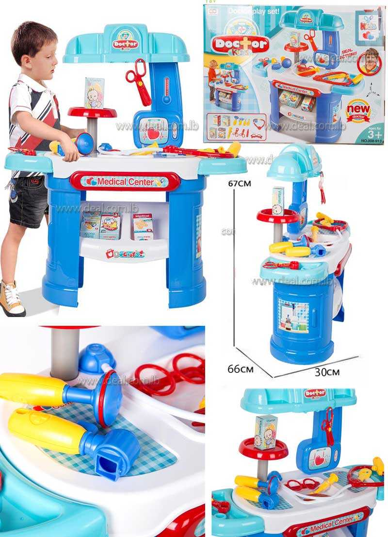 Kids Doctor Play Set Deluxe Medical Kit Pretend Play Toys for Children