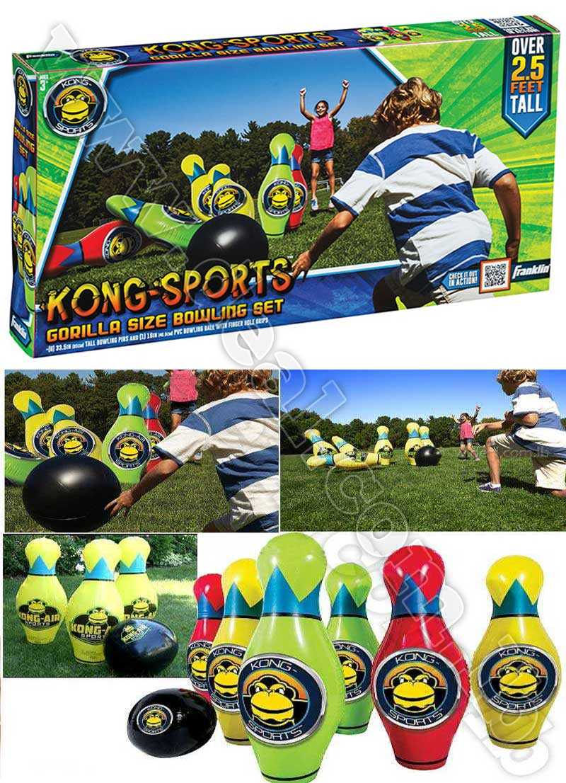 King Sports Gorilla Size Bowling Set over 2.5 feet tall