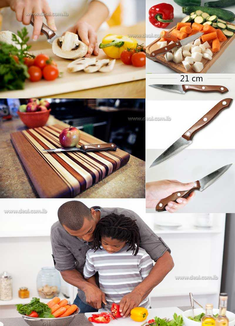 Kitchen Knife For Cutting Vegetables 21 cm