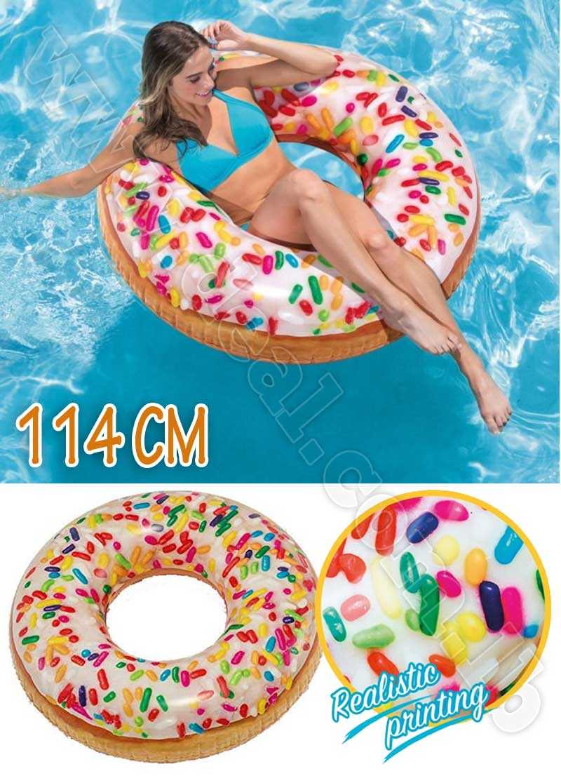 Lifebuoy Donut With Colored Zucchini 114 Cm