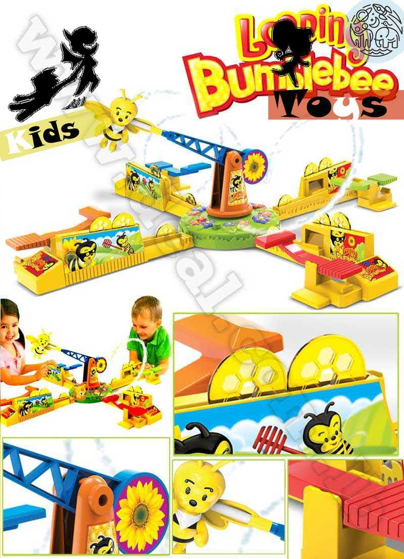 Looping Bumblebee Table Game