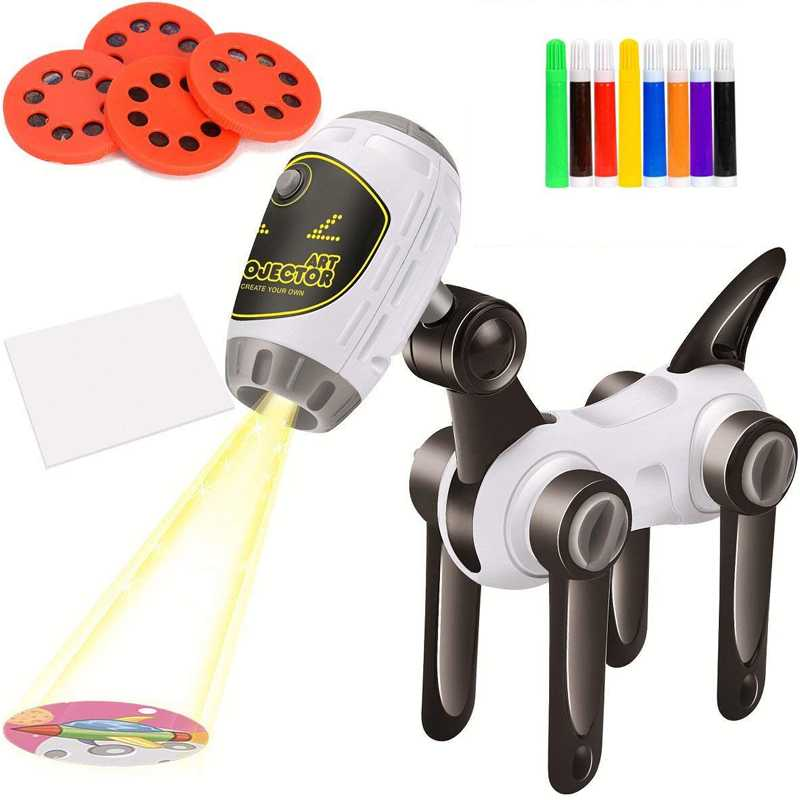 Machine Dog  Projector Children's Art