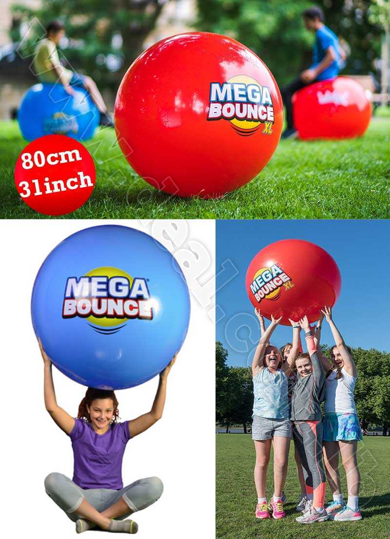 Mega Bounce xl Action inside and out massive 80 cm 31 inch