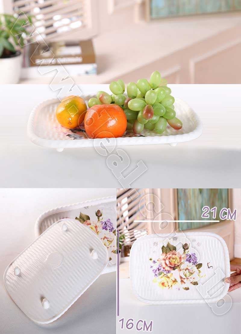 Melamine Plastic Plate Serving Fruit Small Size