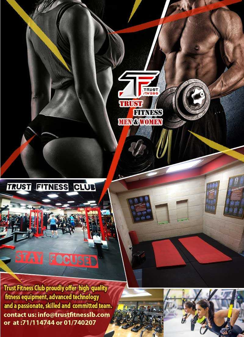 Membership at Trust Fitness Club in Hamra ($39 instead of $120)