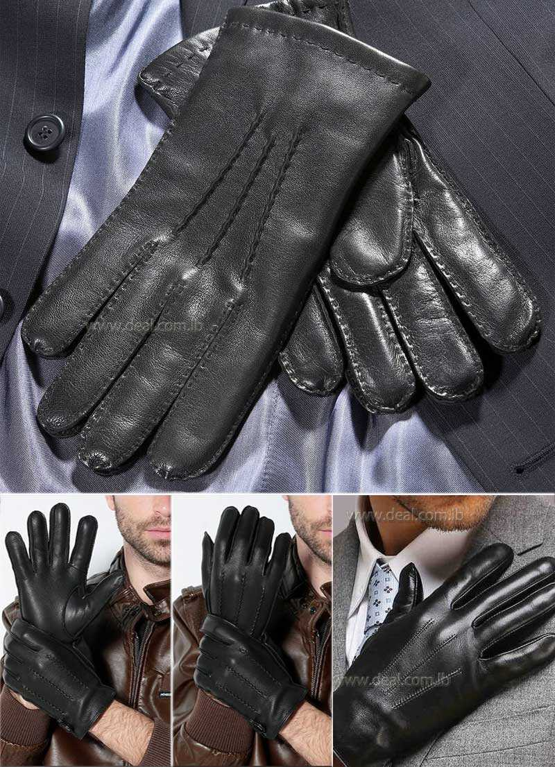 Mens Handsewn Leather Gloves