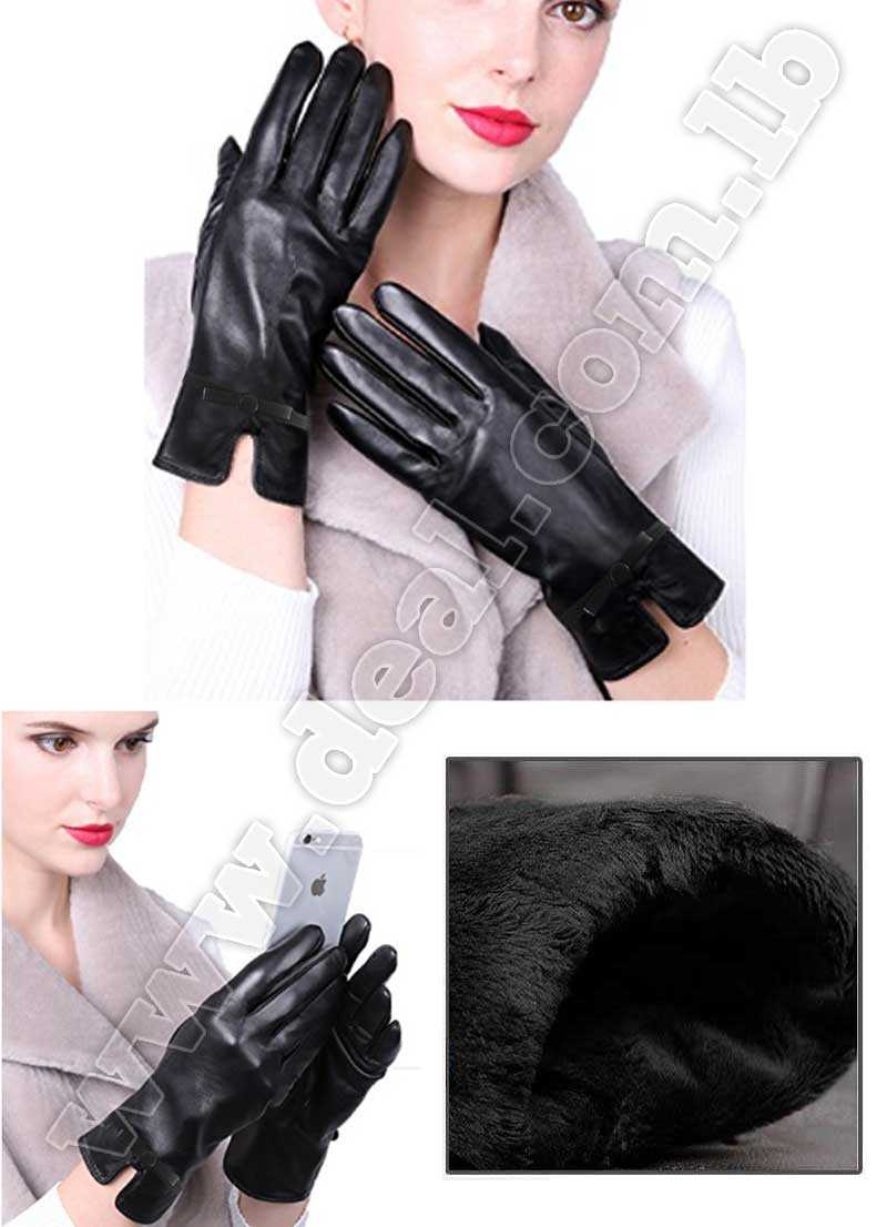 Menschwear Womens Leather Gloves