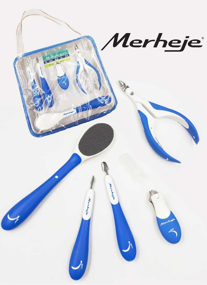 Merheje touch Blue manicure and pedicure kit