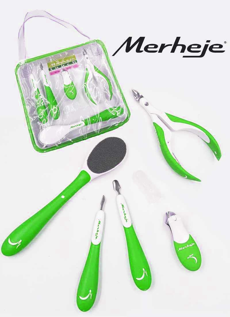 Merheje touch Green manicure and pedicure kit
