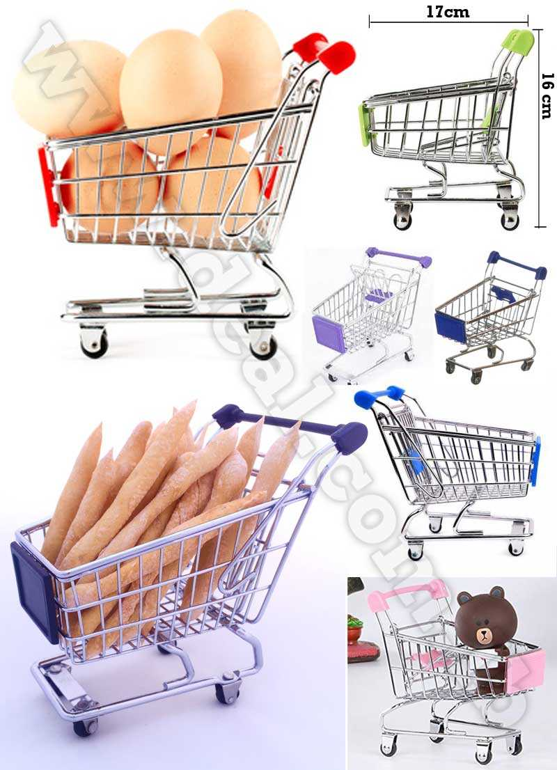 Mini Large supermarket Handcart shopping trolley
