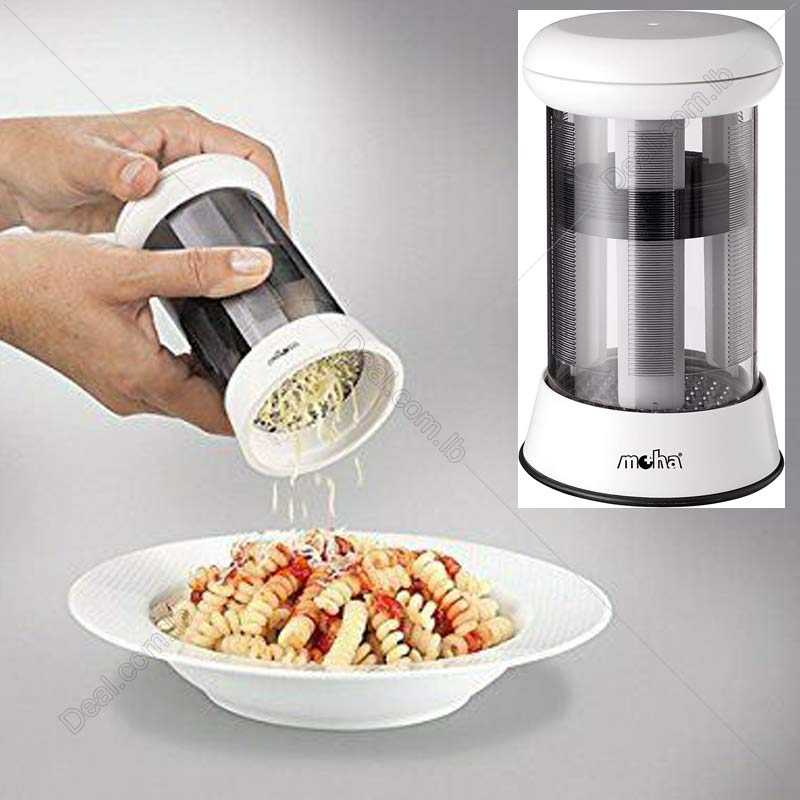 Molino+Cheese+Mill+2+Functions+Fine+Grater+and+Shavings