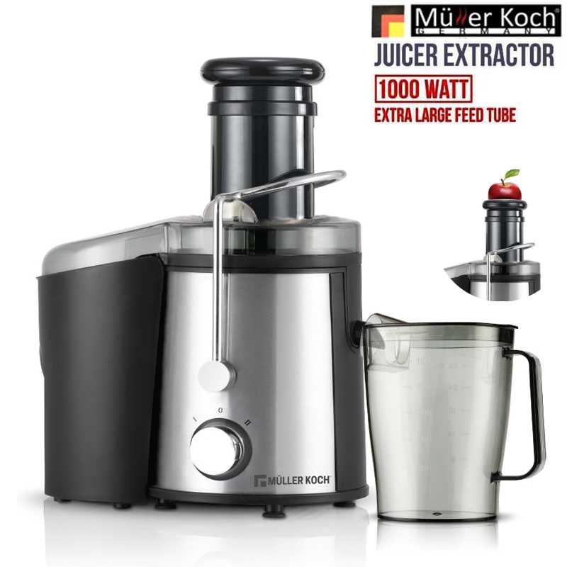 Muller Koch Juicer Extractor 1000 WATT SS