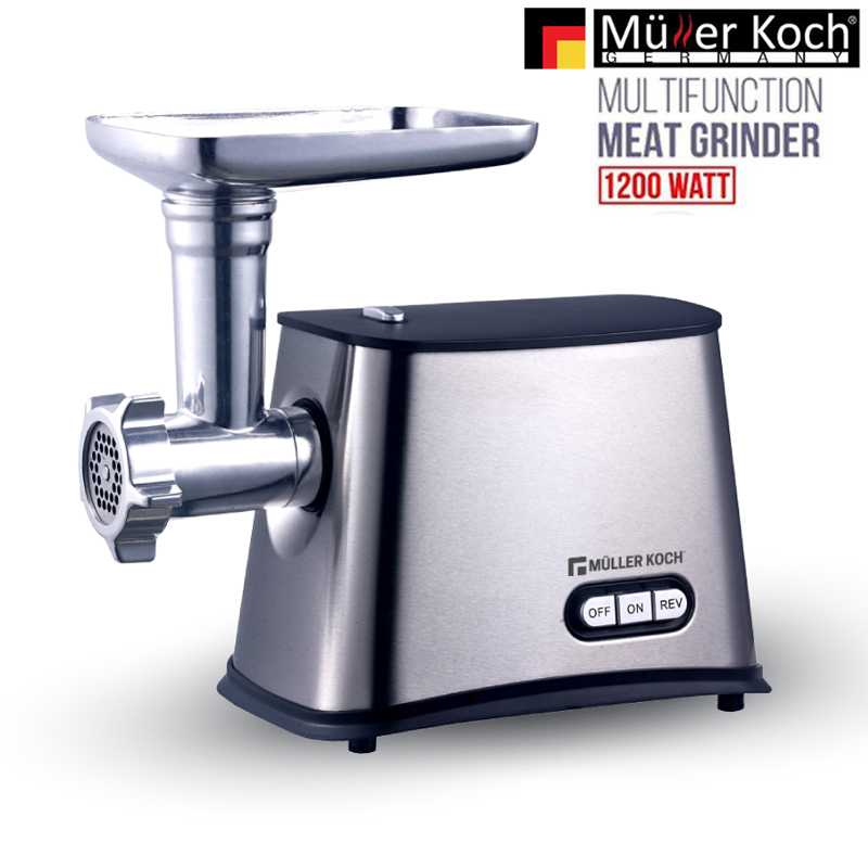 Muller Koch Multi Function Meat Grinder 1200 WATT