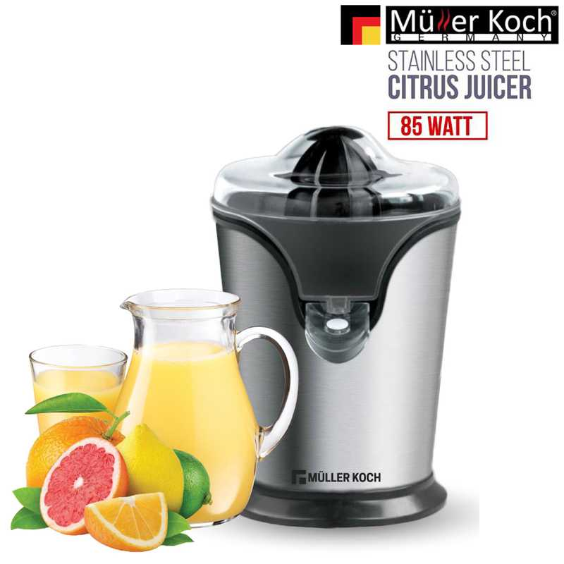 Muller Koch STAINLESS STEEL CITRUS JUICER 85 WATT