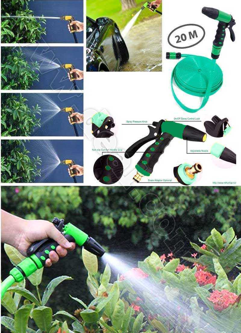 Multi Function Water Saving Spray Gun 20 M
