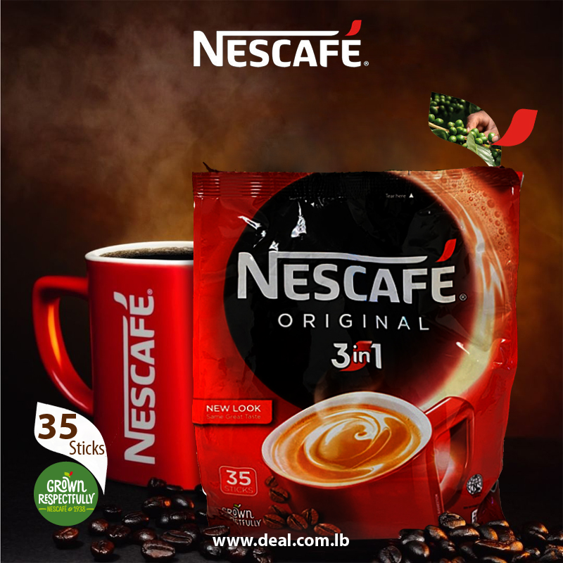Nescafe Original 3 in 1 35 pcs