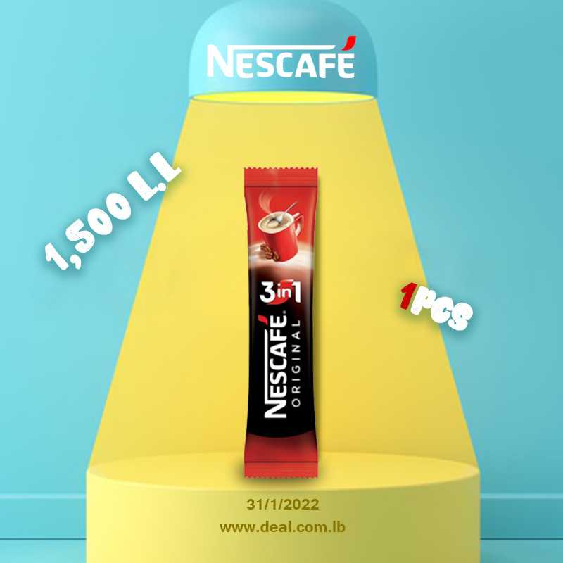 Nescafe Original 3 in 1 SACHET