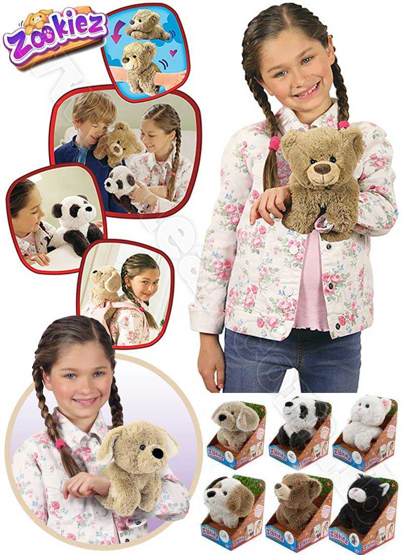 New Zookiez Bear Soft Plush