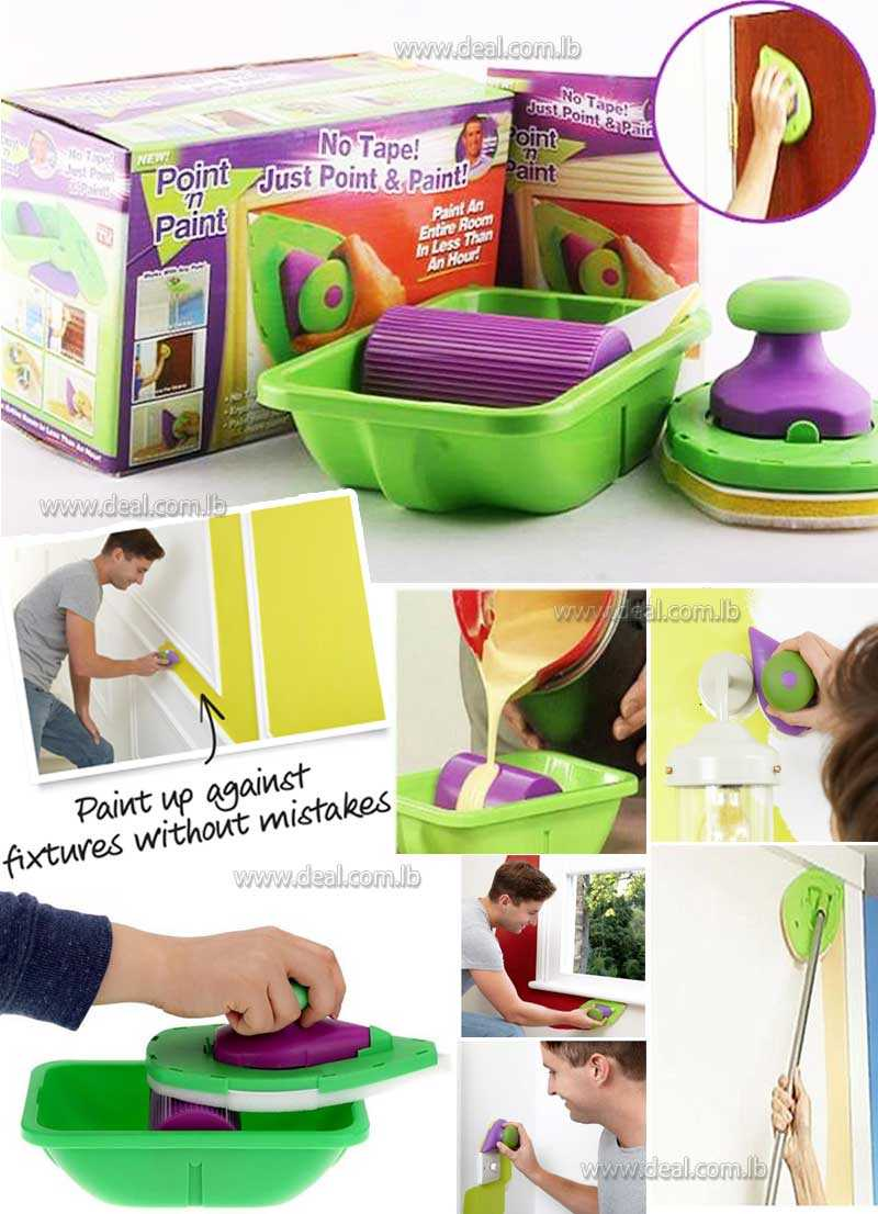 No Tape Just Point & Paint Decorative Painting Tool