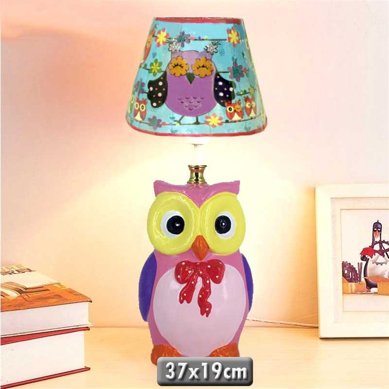 Owl Ceramic Table lamp
