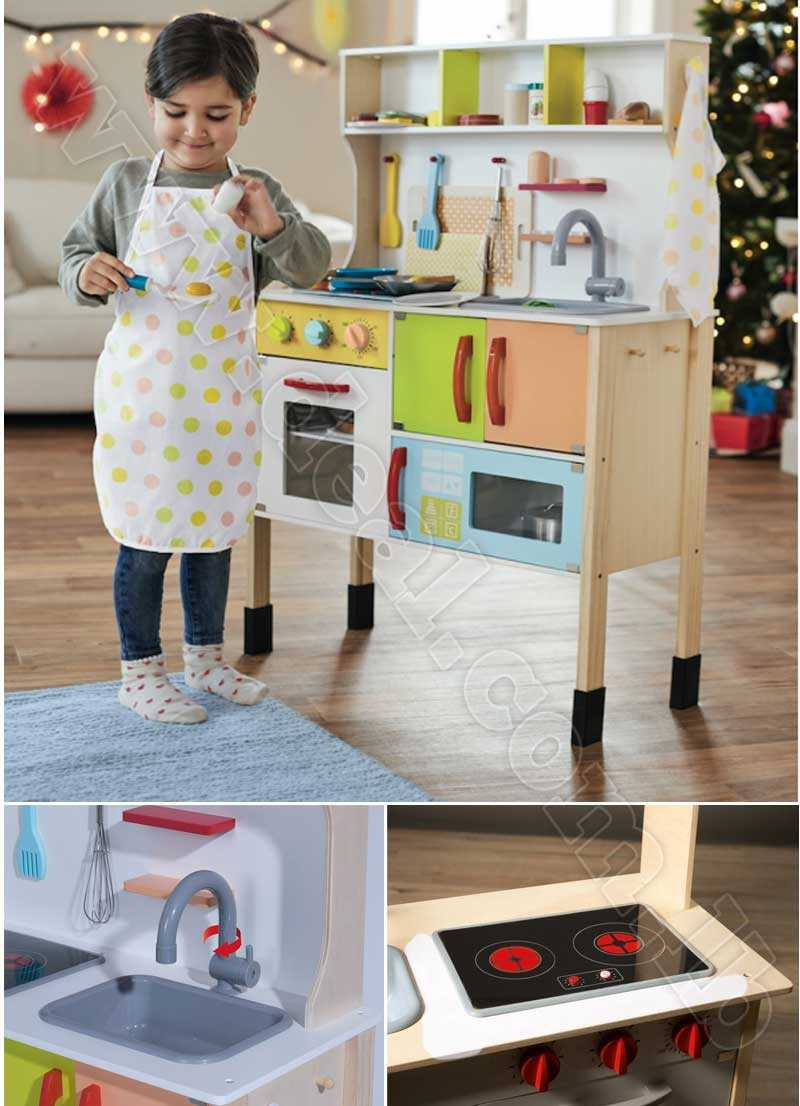 PLAYTIVE JUNIOR Wooden Play Kitchen