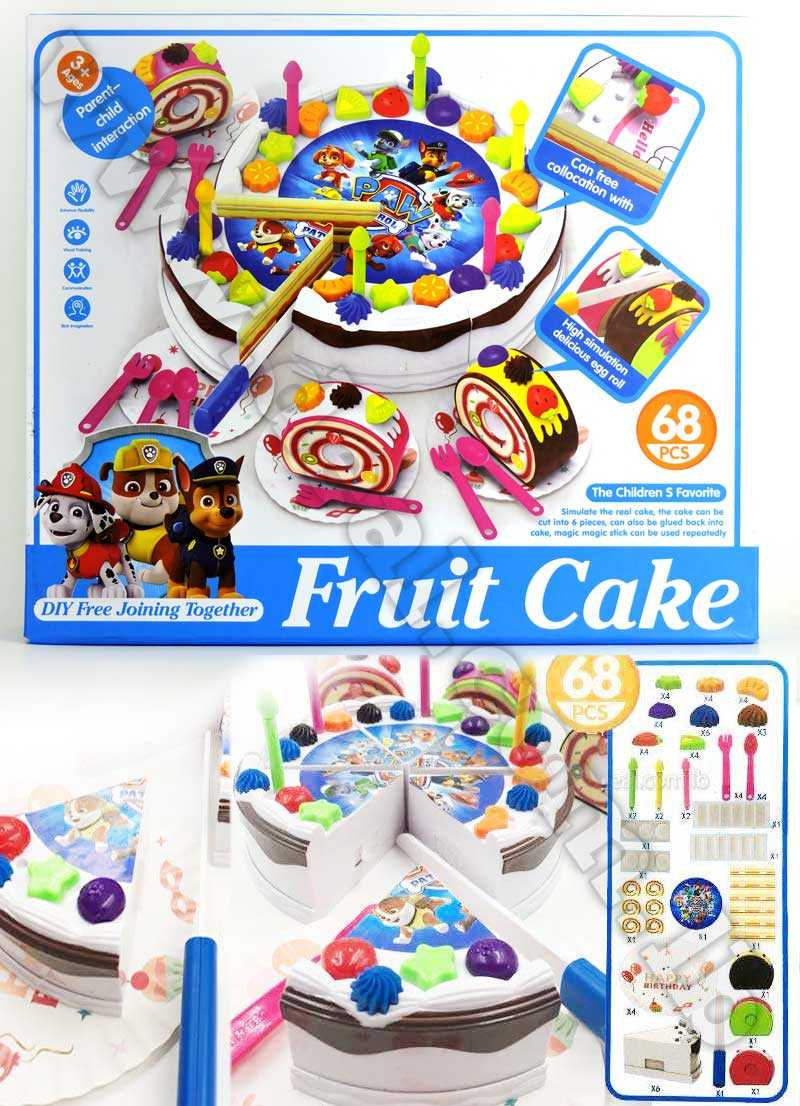 Paw Patrol DIY cake painting Set