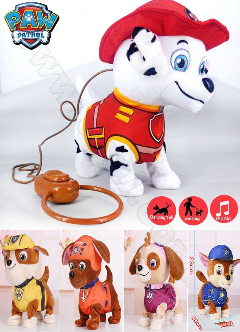 Paw Patrol Dogs Musical Interactive Electric Pets