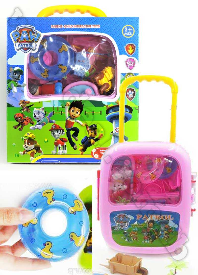 Paw Patrol Parent Child Interactive Toys Trolley